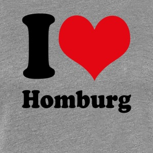 I love Homburg - Women's Premium T-Shirt