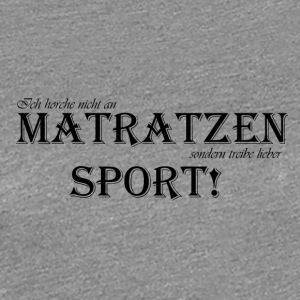 tobejo.de - Matratzensport - black - Women's Premium T-Shirt