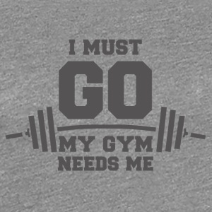 gym - Frauen Premium T-Shirt