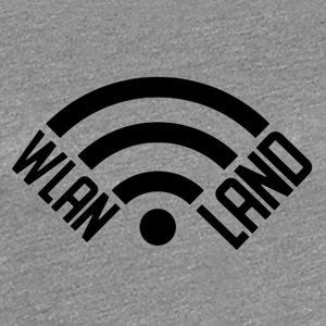 Wlan Land Logo 1 - Women's Premium T-Shirt