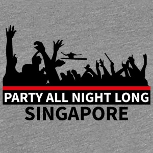 SINGAPORE Party - Women's Premium T-Shirt