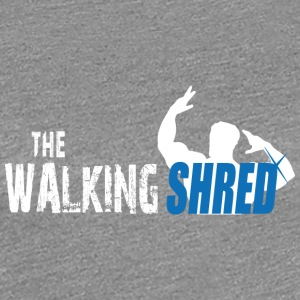 The Walking Shred - Women's Premium T-Shirt