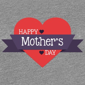 happy mother s day red heart - Women's Premium T-Shirt
