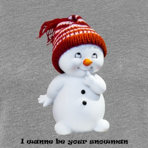 I sink be your snowman - Women's Premium T-Shirt