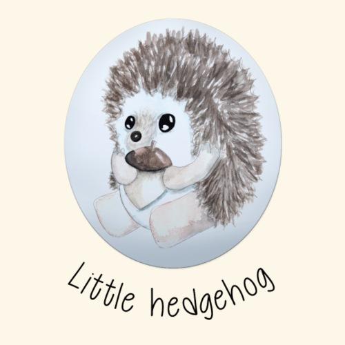 Little hedgehog - Camiseta premium mujer