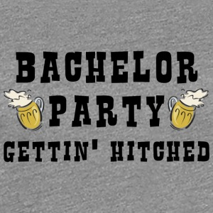 Bachelor Party Getting Married - Frauen Premium T-Shirt