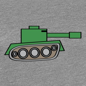 W.O.T World of tanks t-shirt. - Women's Premium T-Shirt