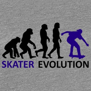 ++Skater Evolution++ - Frauen Premium T-Shirt