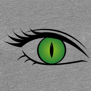 Eye - Alle Seeing Eye kvinde - Dame premium T-shirt