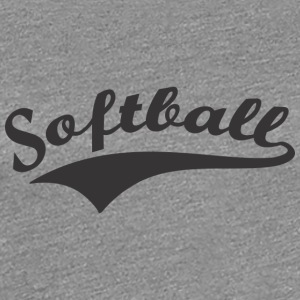 Softball - Women's Premium T-Shirt