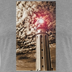 LIGHTHOUSE TRAFALGAR_SEPIA - Premium-T-shirt dam
