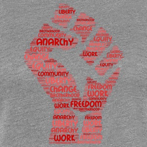 anarchy word cloud - Women's Premium T-Shirt