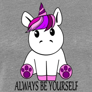 Einhorn Always be yourself - Frauen Premium T-Shirt