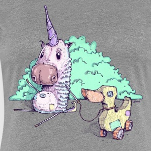 The little unicorn - Women's Premium T-Shirt