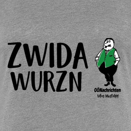 Zwidawurzn - Vitus Mostdipf - Frauen Premium T-Shirt