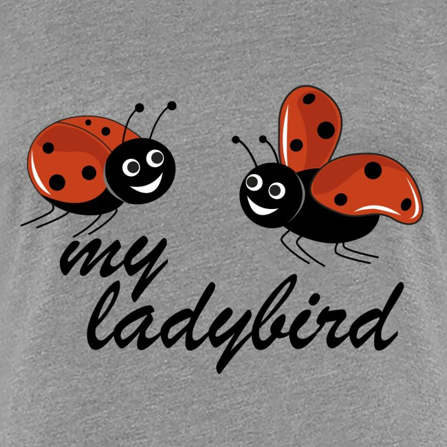 coccinelle con testo my ladybird