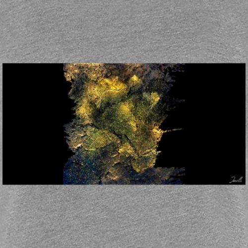 Goldrausch Kunst Motiv - Frauen Premium T-Shirt