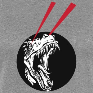T Rex laser beams - Women's Premium T-Shirt