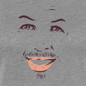 smiling man 01 - Women's Premium T-Shirt