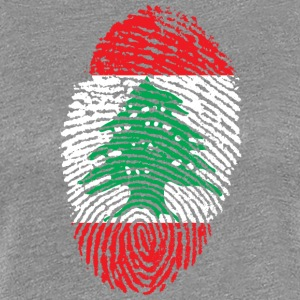 IN LOVE med Libanon - Premium-T-shirt dam