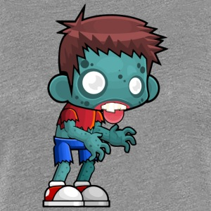 Male Zombie - Women's Premium T-Shirt