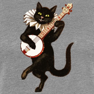 Dancing Cat - Vrouwen Premium T-shirt
