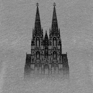 Around The World: Dom - Köln - Premium-T-shirt dam