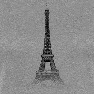 Around The World: Torre Eiffel - Parigi - Maglietta Premium da donna
