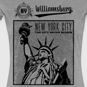 New York City · Williamsburg - Frauen Premium T-Shirt