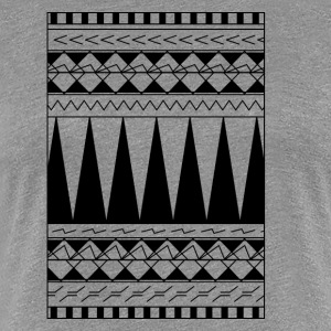 Tattoo Maori tribe line - Women's Premium T-Shirt