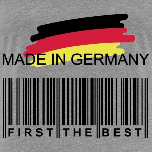 Germany First Flag - Frauen Premium T-Shirt
