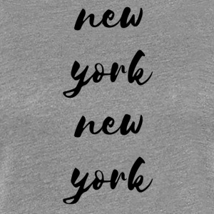 new york new york - Women's Premium T-Shirt