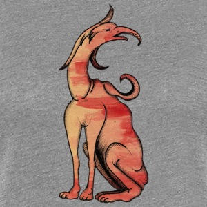 Chimera from gripping and dog - Women's Premium T-Shirt