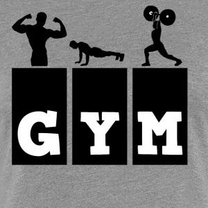 Gym - Women's Premium T-Shirt