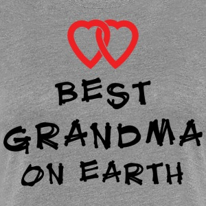 Beste Oma On Earth - Vrouwen Premium T-shirt