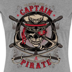 captain pirate - Vrouwen Premium T-shirt