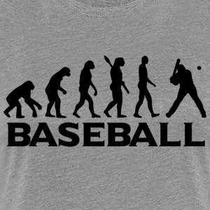 evolution BASEBALL bt - Dame premium T-shirt