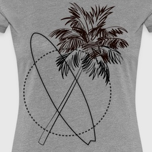 Summervibe - Women's Premium T-Shirt