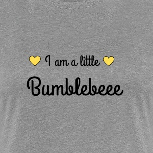 I am a little bumblebeee - Frauen Premium T-Shirt