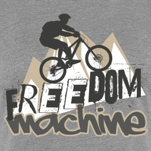 Freedom Machine - Frauen Premium T-Shirt