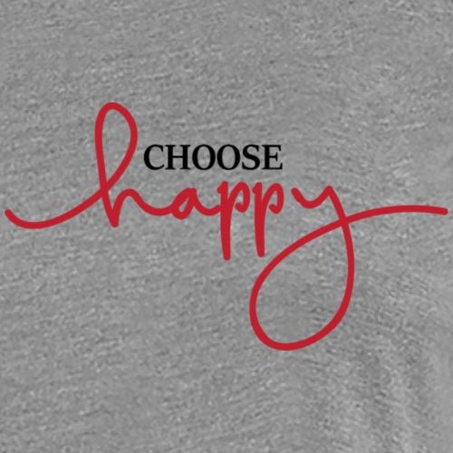 Choose happy - Women's Premium T-Shirt