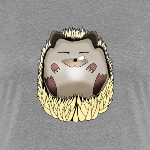 Hérisson dormeur - T-shirt Premium Femme