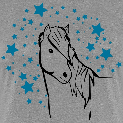 Stjarnazweifarbig - Frauen Premium T-Shirt