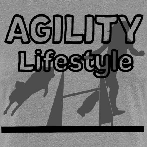 Agility Agilityhund Agilityspruch agility - Frauen Premium T-Shirt