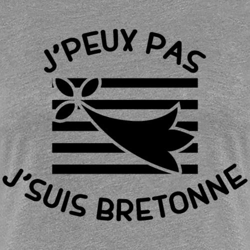 j'peux pas j'suis bretonne - T-shirt Premium Femme