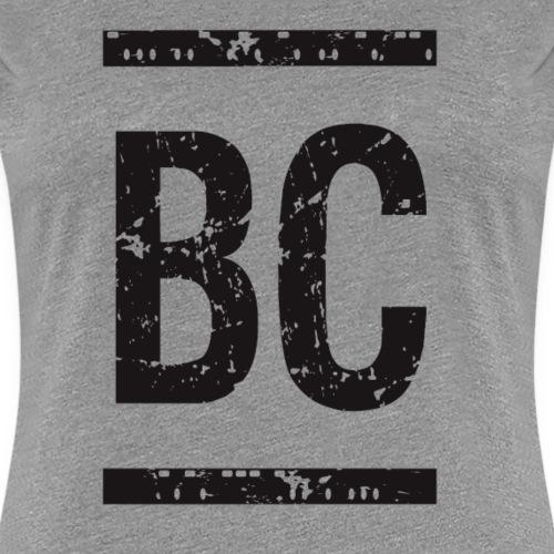 BC Burning Codes Monogram Black - Women's Premium T-Shirt