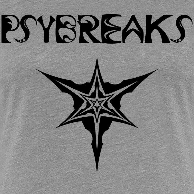 Psybreaks visuel 1 - text - black color