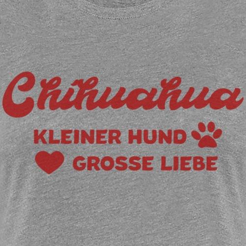 Chihuahua Mama Geschenkidee - Frauen Premium T-Shirt
