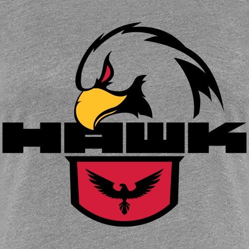 Adler Kopf - Frauen Premium T-Shirt