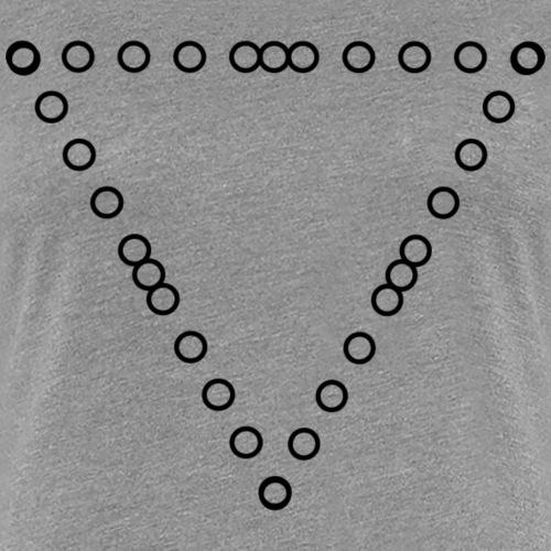 TRIANGLE3XX - Camiseta premium mujer